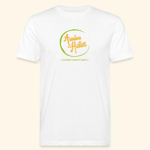 Aventure Hustive Logo - T-shirt bio Homme