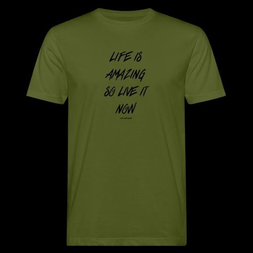 Life is amazing Samsung Case - Men's Organic T-Shirt