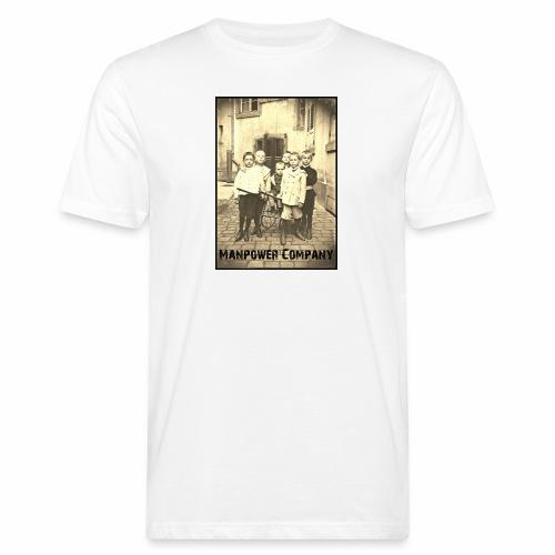 Manpower Company - Männer Bio-T-Shirt