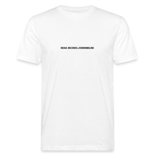 MOAR. Records x RobRibbelink phone case - Men's Organic T-Shirt