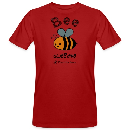 Bees2 - Protect the bees - Men's Organic T-Shirt