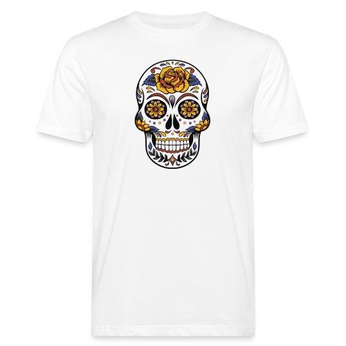 skull mexiko mexico - Männer Bio-T-Shirt