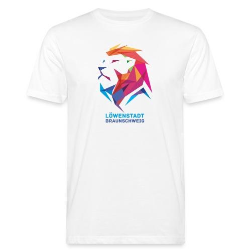 Löwenstadt Design 7 - Männer Bio-T-Shirt