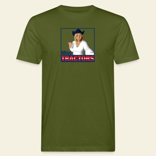 Miss Tractors Logo - T-shirt ecologica da uomo