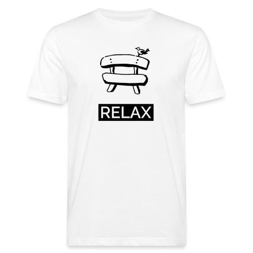 Bankerl Relax - Männer Bio-T-Shirt