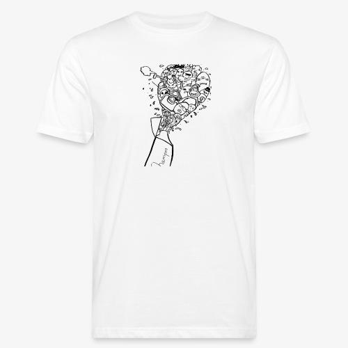 shampoo doodles - Men's Organic T-Shirt