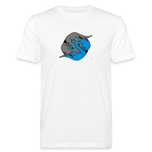 Yin and Yang Kitties - Men's Organic T-Shirt