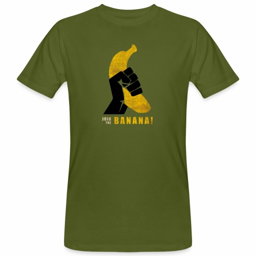 Join the Banana ! Wankil - T-shirt bio Homme
