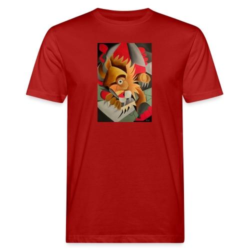 leone - T-shirt ecologica da uomo