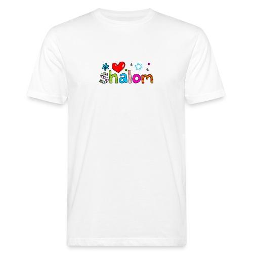 Shalom II - Männer Bio-T-Shirt