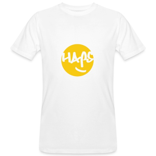 HAPS Yellow Logo - Men's Organic T-Shirt