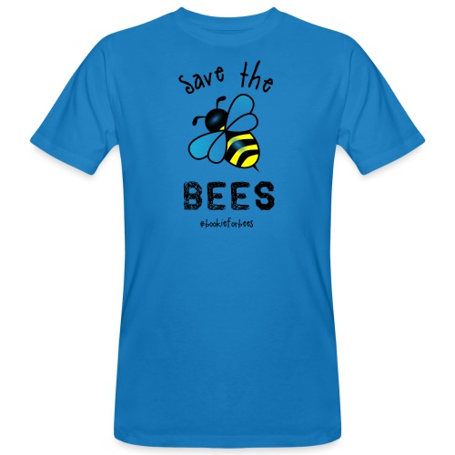 Bees4-1 save the bees | Bookrebels - Men's Organic T-Shirt