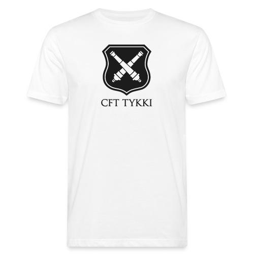 Tykki logo musta - Miesten luonnonmukainen t-paita