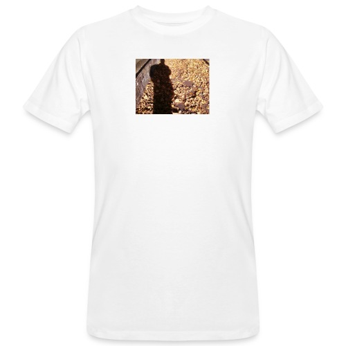 THE GREEN MAN IS MADE OF AUTUMN LEAVES - Men's Organic T-Shirt