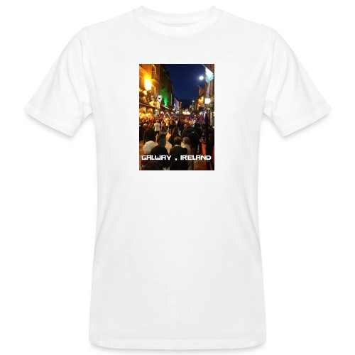GALWAY IRELAND SHOP STREET - Men's Organic T-Shirt