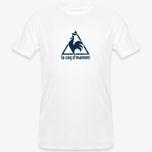La Coq d'Mammt - T-shirt ecologica da uomo