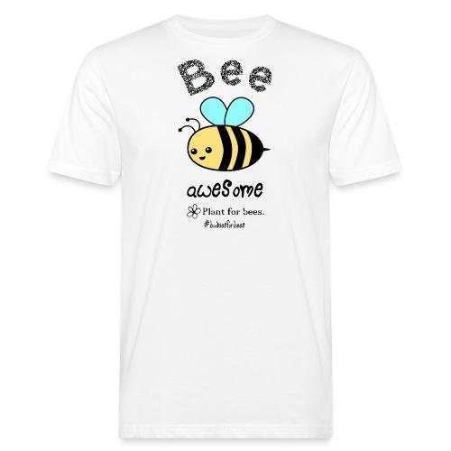 Bees2-1 Schützt die Bienen - Men's Organic T-Shirt