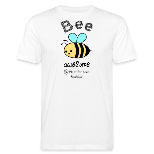 Bees2-2 Schützt die Bienen - Men's Organic T-Shirt