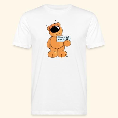 chris bears Keiner hat mich lieb - Männer Bio-T-Shirt
