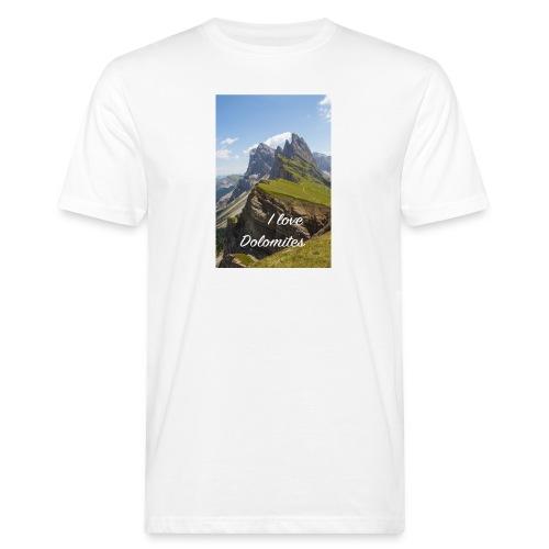 Naturpark Puez Geisler - Männer Bio-T-Shirt