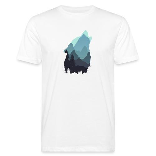 Wolf - Men's Organic T-Shirt