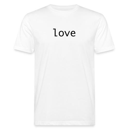 love - Ekologisk T-shirt herr
