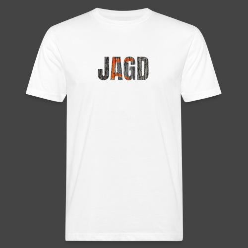 JAGD-Shirt für Jäger/innen, Motiv Drückjagdstand - Männer Bio-T-Shirt