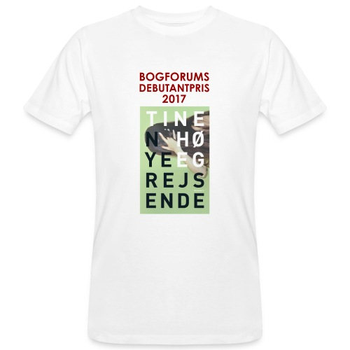 T shirt Høeg final2 png - Organic mænd