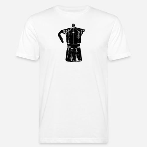Bialetti – Kaffee– But first coffee - Männer Bio-T-Shirt
