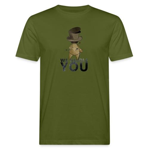 WE NEEDLE YOU - T-shirt bio Homme