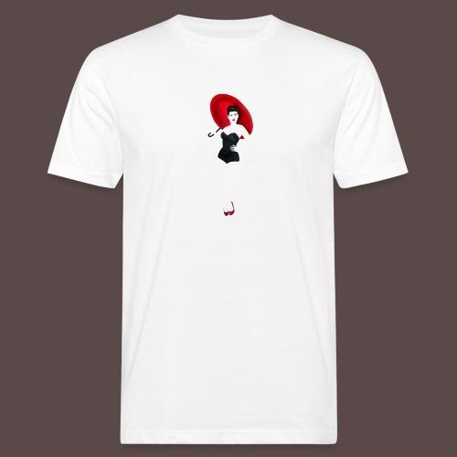 Pin up - Red Umbrella - T-shirt ecologica da uomo