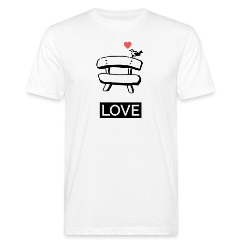 Bankerl Love - Männer Bio-T-Shirt