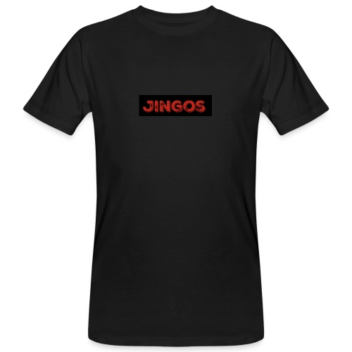 Jingos tee - Black on white - Organic mænd