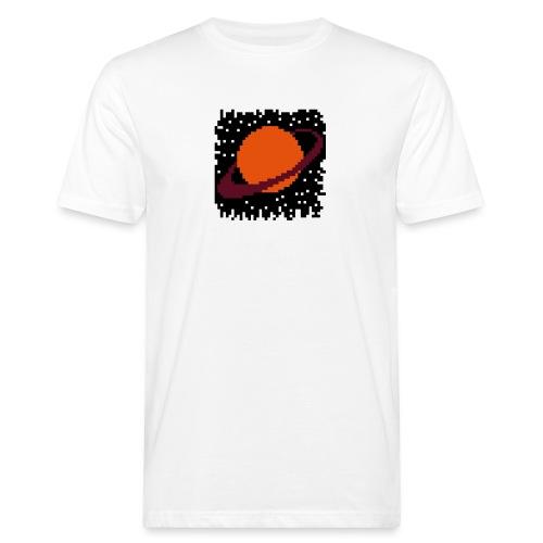 PixelArt Saturn - Men's Organic T-Shirt