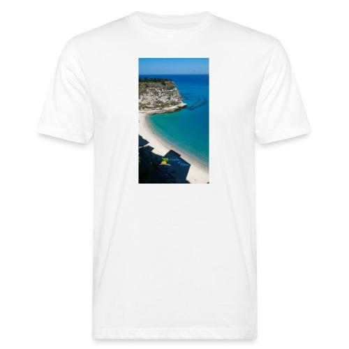 Tropea isola - T-shirt ecologica da uomo