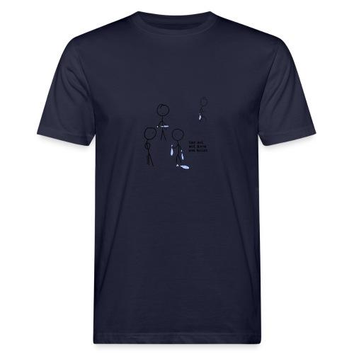 har sei png - Økologisk T-skjorte for menn
