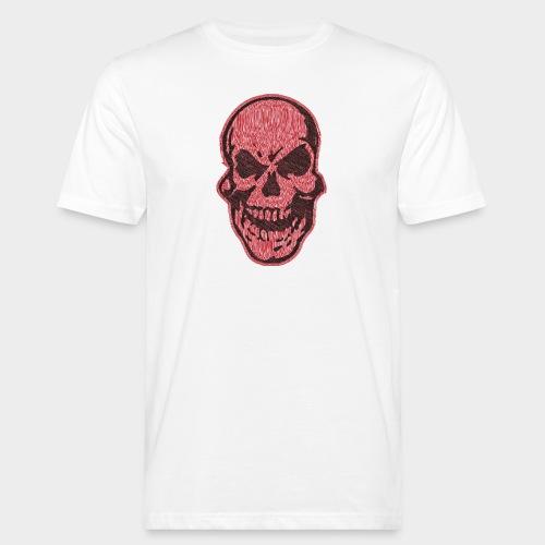 CALAVERA garabato - Camiseta ecológica hombre
