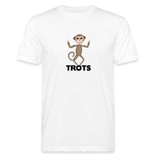 apetrots aapje wat trots is - Mannen Bio-T-shirt