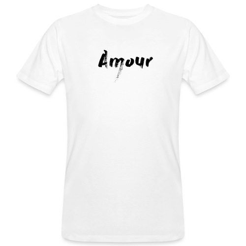 amour - T-shirt bio Homme