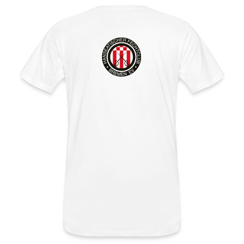 hfcb logo 900 - Männer Bio-T-Shirt