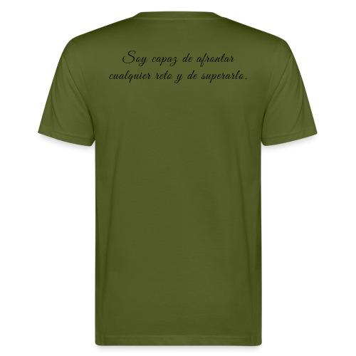 Soy capaz de afrontar cualquier reto y superarlo - Camiseta ecológica hombre