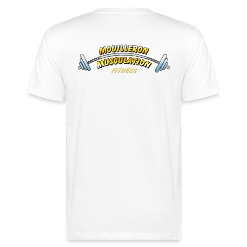 mouilleron muscu logo pour tee shirt 311 - T-shirt bio Homme