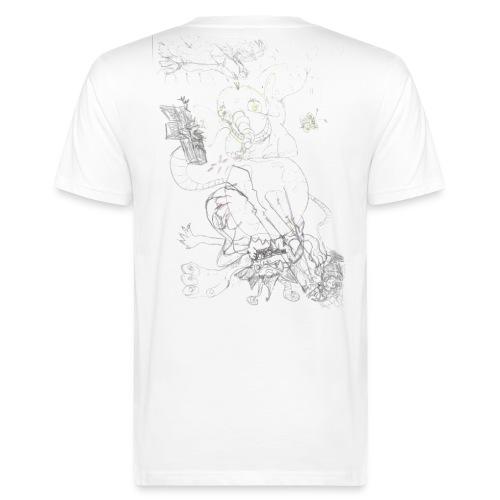 elefant - Männer Bio-T-Shirt