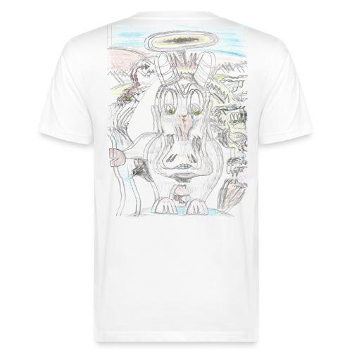 selbstportrait - Männer Bio-T-Shirt