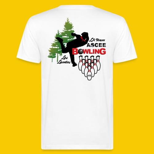 BOWLING ASCEE40 - T-shirt bio Homme