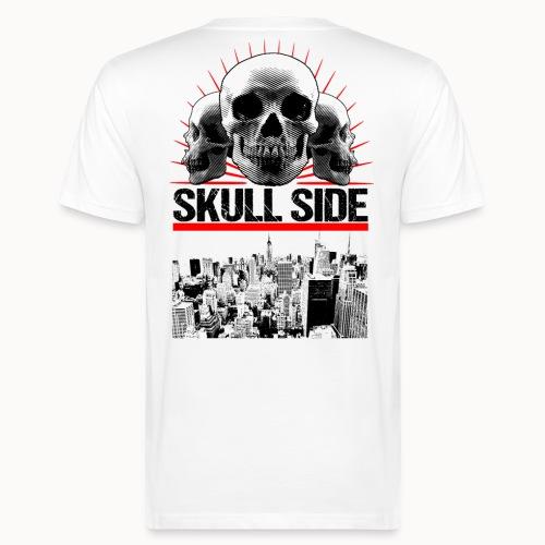 skull side city - Männer Bio-T-Shirt