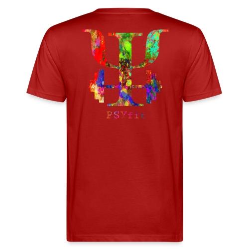 Watercolour splatter - Men's Organic T-Shirt