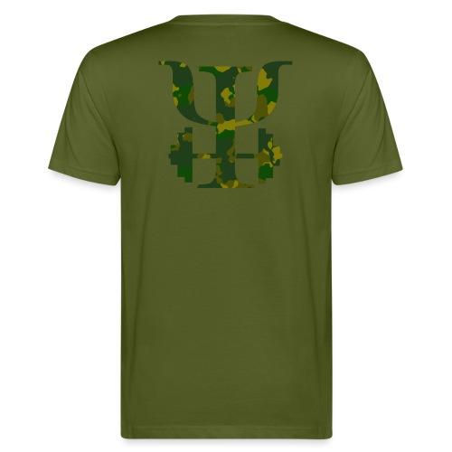 Logo Camo - Men's Organic T-Shirt