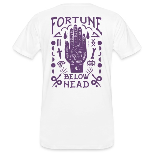 Voodoo violett - Männer Bio-T-Shirt