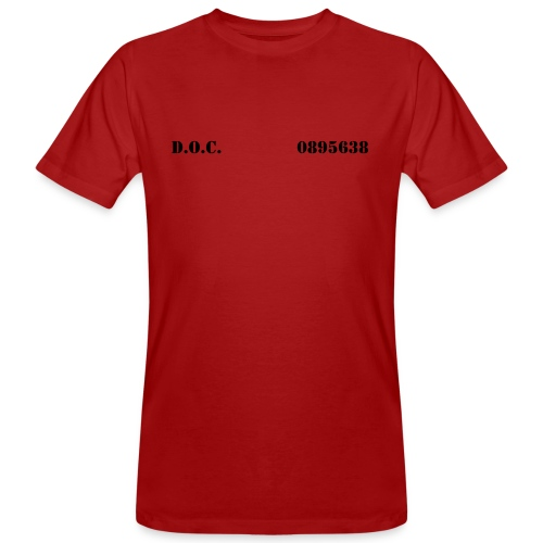Department of Corrections (D.O.C.) 2 front - Männer Bio-T-Shirt
